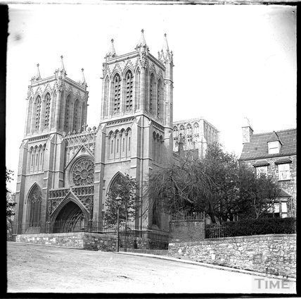 Bristol Cathedral c.1890s