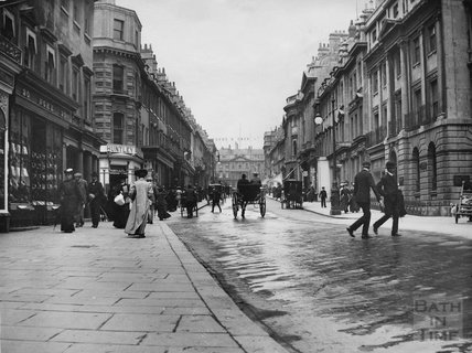 Milsom Street looking north, c.1910s