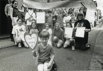 Library Closure Protests: Moorland Road & Weston, 1992