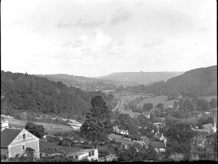 View of Limpley Stoke, c.1900s