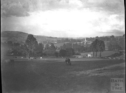 View to Bathford from Warminster Road, Bathampton