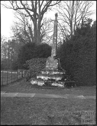 Churchyard cross at All Saints, Alford, Somerset c.1900s