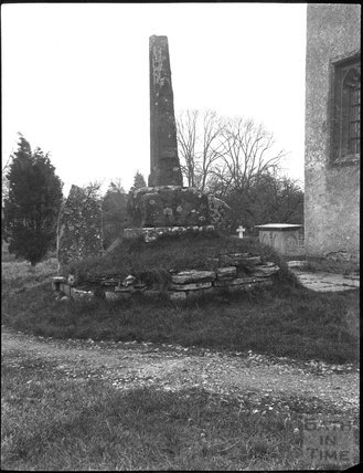 Churchyard cross, Barton St. David, near Taunton, Somerset, c.1900s