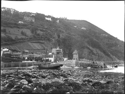 The harbour, Lynmouth, c.1900s