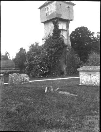 Old tower of St Peter, Hornblotton, c.1900s
