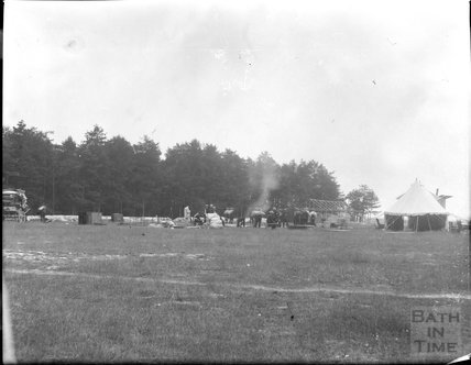 Camp life, unidentified military camp, c.1900s