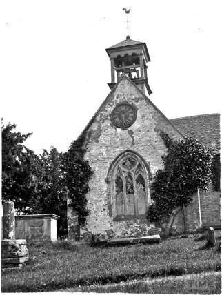 Didmarton Old Church, Gloucestershire, c.1900s
