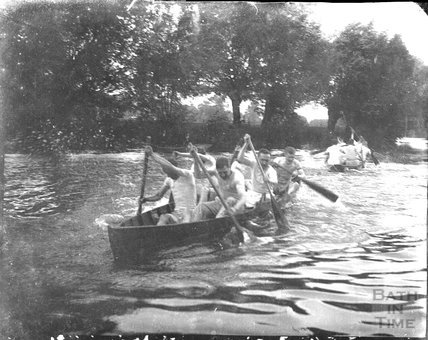 Kayaking, Bathwick, c.1900s