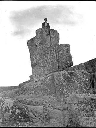 Unidentified rocky outcrop, c.1900s