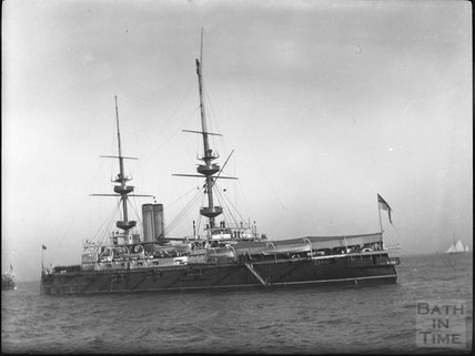Unidentified steamship, c.1900s