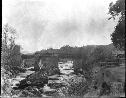 Bridge in unidentified location, c.1900s