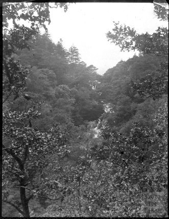 Waterfall in unidentified location, c.1900s