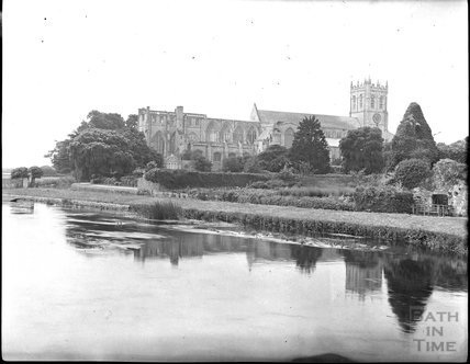 Christchurch Priory, c.1900s