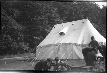 Unidentified military camp, c.1920s
