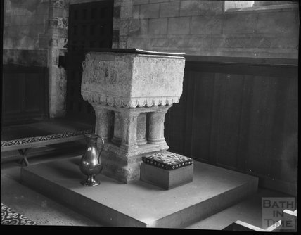 Font, St Mary's, Berkeley, Gloucestershire