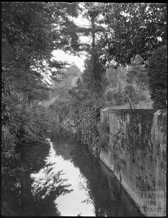 The Mill Brook, Monkton Combe, c.1900s