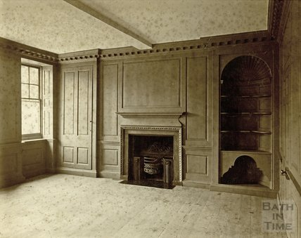 Fire Place, Rosewell House, Kingsmead Square, Drawing Room, c.1880s