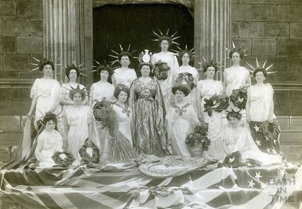 Bath Historical Pageant, July 1909