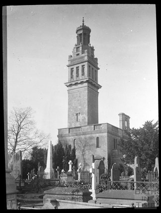 Beckford's Tower and Burial Ground c.1905