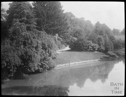 Thought to be Royal Victoria Park, lake and walk, c.1905