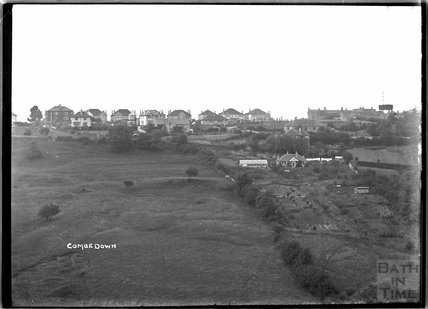 View of Combe Down c.1930s