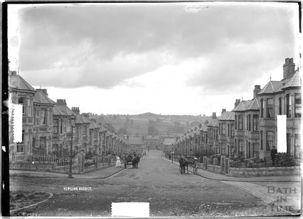 Kipling Avenue, looking down c.1910
