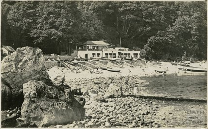 A cove at Babbacombe, Devon, c.1920s