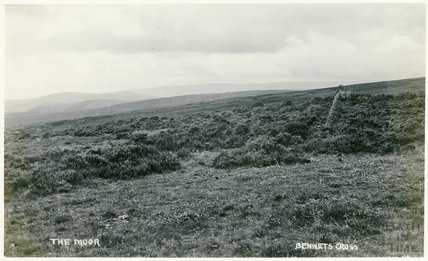 The Moor, Bennets Cross, Dartmoor, c.1910s