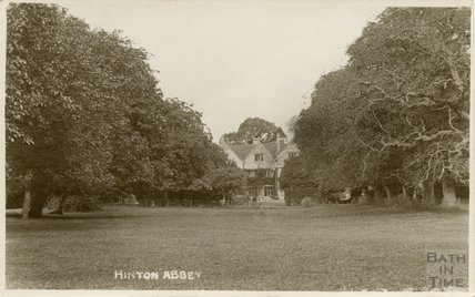 Hinton Abbey, Hinton Charterhouse, c.1920s