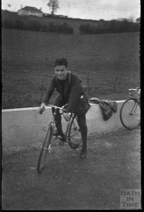 A member of the cycling club, 1930