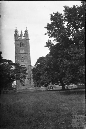 Thornbury Church Tower, South Gloucestershire, 1932