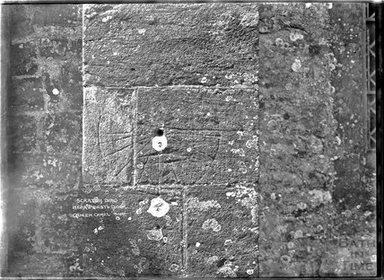Scratch Dial, near Priest's Door, Queen Camel, Somerset c.1920s