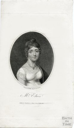 Portrait of the actress Mrs Elizabeth Rebecca Edwin (nee Richards) (1771? - 1854), 1810