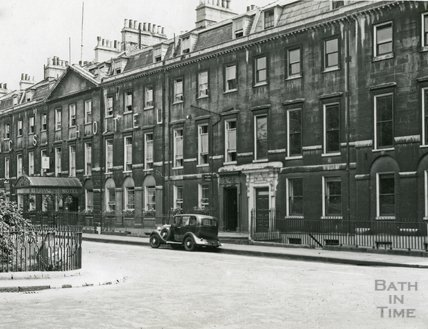 The Francis Hotel, Queen Square, Bath c.1930s