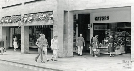The Harvey Block High Street, Bath, 15 August 1984