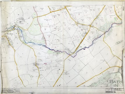 Nettleton field names - also West Kington - Wiltshire - traced by D N Brackenbury, traced 1959