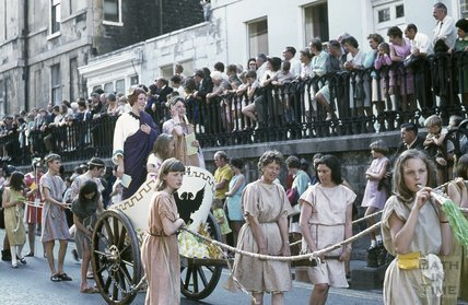 University of Bath Rag Carnival, George Street, Bath June 1970