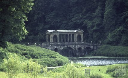 Palladian Bridge, Prior Park, 1971