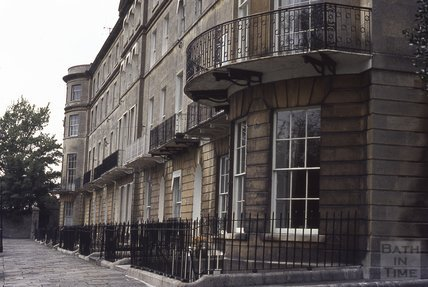 Sion Hill Place, 1972