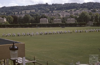 Archery on the Recreation Ground, 1975