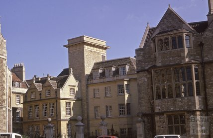 Abbey Church House and St John's Hospital, Bath, 1975