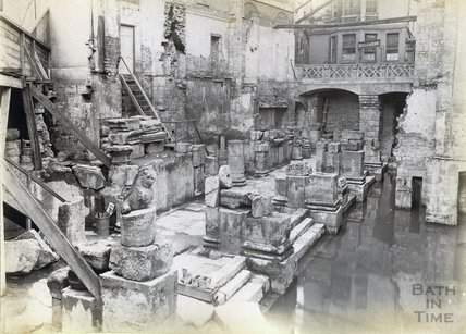 Roman Great Baths c.1885