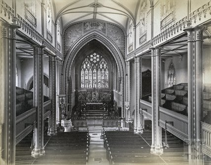 St. Mary's Church interior, Bathwick c.1890