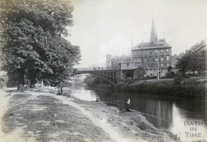 North Parade Bridge c.1890