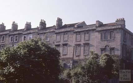 Chatham Row, Walcot, June 1979