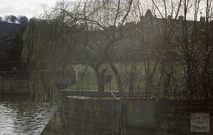 Pulteney Weir, March 1980