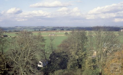 View from Beckford's Tower, Lansdown, Jan 1989