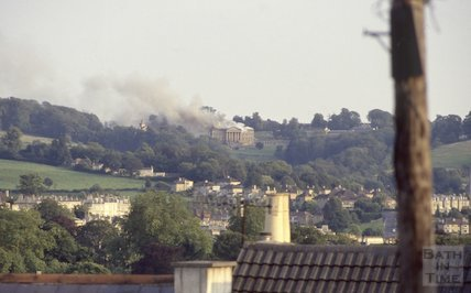 Fire at Prior Park, 1991