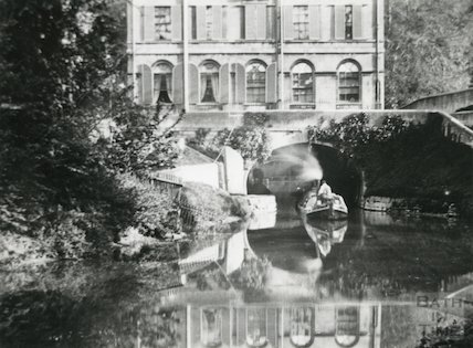 Kennet and Avon Canal and Cleveland House, Sydney Gardens, Bath c.1895 - detail
