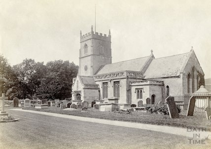 St. Nicholas Church, Bathampton c.1895